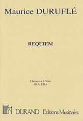 REQUIEM OP 9 (CHORUS PART ONLY)