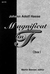 Magnificat in F - Oboe I