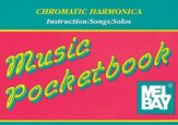 Music Pocketbook For Chromatic Harmonica