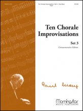 Ten Chorale Improvisations Set 3