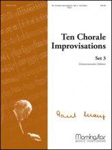 TEN CHORALE IMPROVISATIONS SET 3