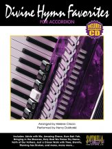 Divine Hymns For Accordion (Bk/Cd)