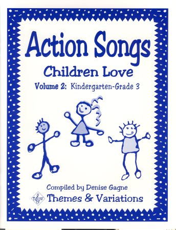 Action Songs Children Love Vol 2 (Bk/Cd)