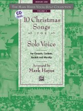 10 CHRISTMAS SONGS FOR SOLO VOICE (BK/CD