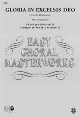 Gloria In Excelsis Deo Sheet Music by F J Haydn (SKU: SV9914) - Stanton's Sheet Music