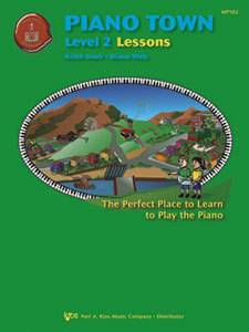 Piano Town Lessons Lev 2