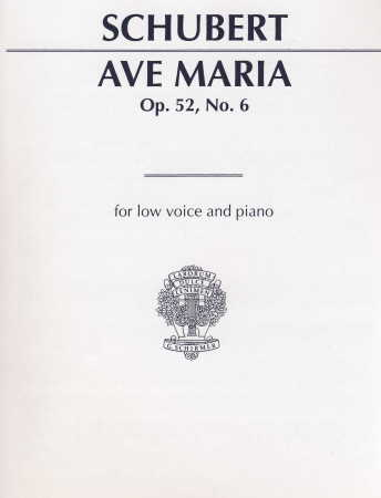 Ave Maria Op 52 #6