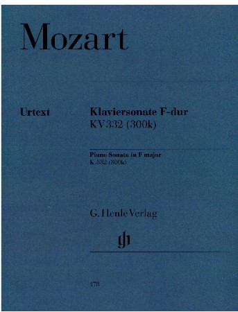 Klaviersonate F Major K332