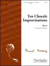 TEN CHORALE IMPROVISATIONS SET 4