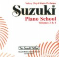 Suzuki Piano School 3 & 4 CD Lloyd-Watts