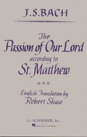 Passion of Our Lord According To St Matt
