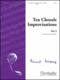 Ten Chorale Improvisations Set 5
