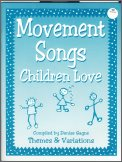Movement Songs Children Love (Bk/Cd)