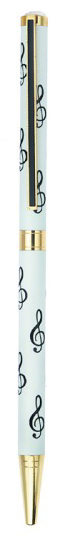 Pen: G Clef White