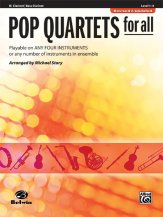 Pop Quartets For All Rev Ed (CL/Bs Cl)