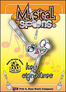 Musical Spoons Key Signatures