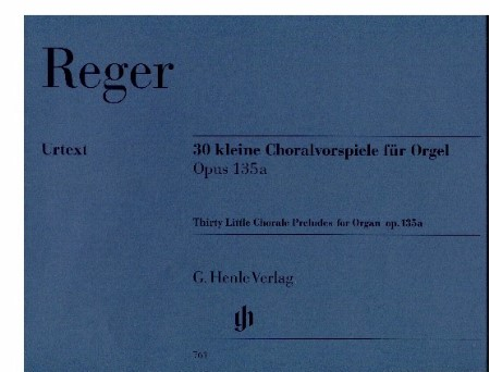 THIRTY LITTLE CHORAL PRELUDES FOR ORGAN