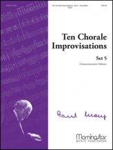 TEN CHORALE IMPROVISATIONS SET 5