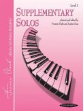 Supplementary Solos Lev 1