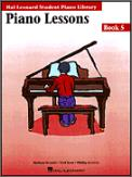 Piano Lessons Bk 5