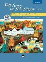 FOLK SONGS FOR SOLO SINGERS V 2 (BK/CD)