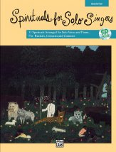 Spirituals For Solo Singers (Bk/Cd)