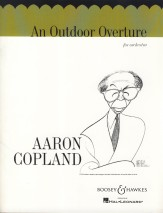 An outdoor overture sheet music by aaron copland sku for Aaron copland el salon mexico score