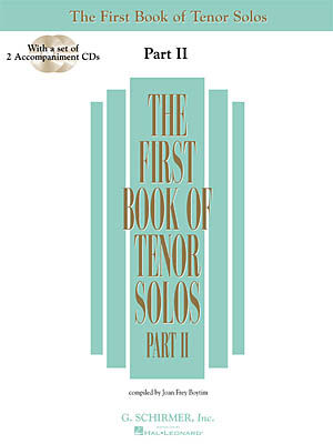 FIRST BOOK OF TENOR SOLOS II, THE