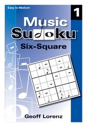 MUSIC SUDOKU SIX-SQUARE 1