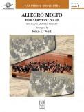 Allegro Molto (From Sym #40)