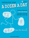A Dozen A Day Preparatory Bk (Bk/Cd)