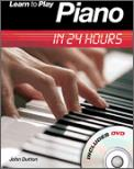 Learn To Play Piano In 24 Hours (Bk/Dvd)