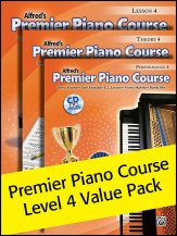Alfred's Premier Piano Course Lev 4 Pack