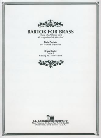 Bartok For Brass