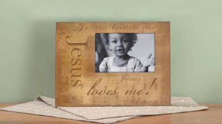 Frame: Jesus Loves Me