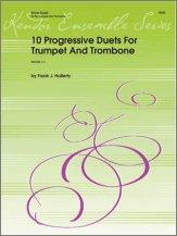 10 Progressive Duets For Trumpet And Trombone