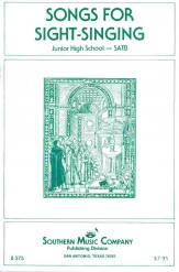 Songs For Sight-Singing Jr Hs SATB