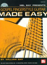Gospel Fingerstyle Guitar Made Easy (Bk/