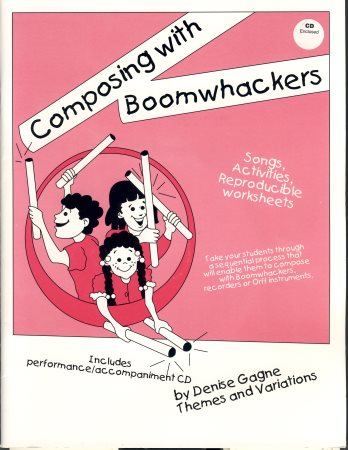 Composing With Boomwhackers (Bk/Cd)