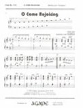 O Come Rejoicing
