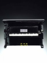 Magnet: Upright Black Piano
