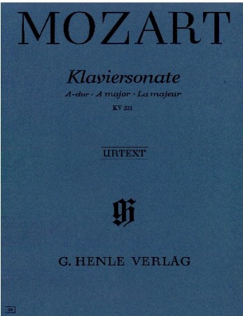 Klaviersonate A Major Kv331