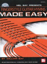 Fingerstyle Guitar Hymns Made Easy (Bk/C