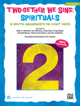 Two-Gether We Sing: Spirituals (Bk/Cd)