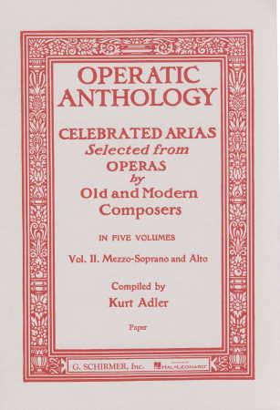 OPERATIC ANTHOLOGY VOL 2