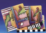 Coaster Set: Violin & Piano