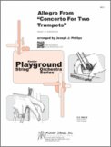 Allegro From Concerto For Two Trumpets