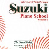 Suzuki Piano School 6 CD Lloyd-Watts