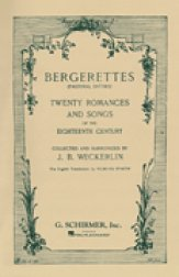 Bergerettes (Pastoral Ditties)
