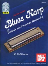 Blues Harp (Bk/CD/Dvd)